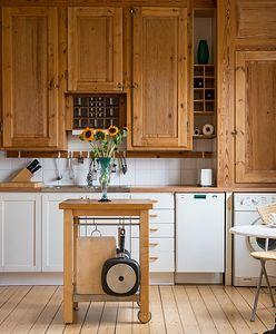 Kuchnia półotwarta na salon - galeria wnętrz