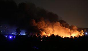 Sosnowiec. Pożar składowiska odpadów został opanowany / foto ilustracyjne