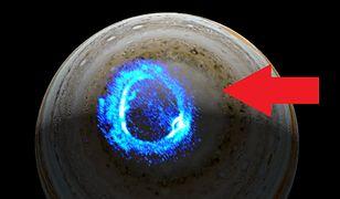 NASA: niezwykłe światła na Jowiszu. Sonda Juno pokazała, jak powstają