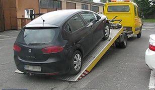Jeden ze skradzionych w Hipszanii samochodów