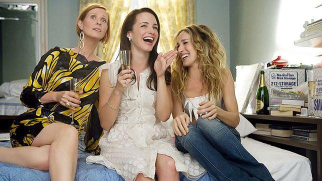 """Cynthia Nixon, Kristin Davis i Sarah Jessica Parker są gwiazdami """"Seksu w wielkim mieście"""""""