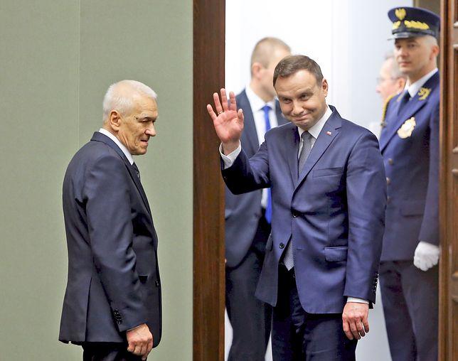 Prezydent obcina pensje. Kuchcińskiemu zabrał kilka tysięcy