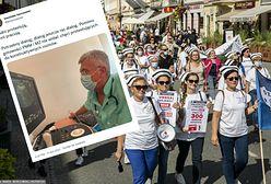 Karczewski ocenia protest medyków. Pielęgniarka o jego wpisie: nie tylko senator leczy w Polsce ludzi