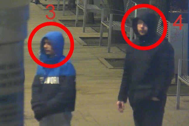 Policja poszukuje sprawców pobicia w Toruniu.