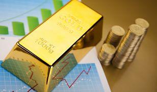 Ceny złota o jedną trzecią niższe niż dwa lata temu