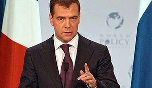 Czarny scenariusz Miedwiediewa: Rosja może upaść