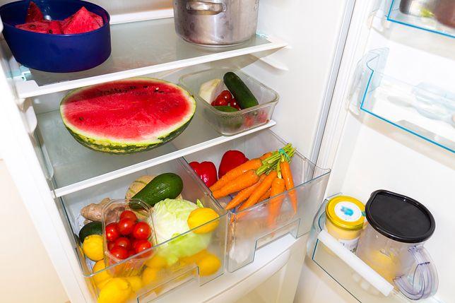 Przechowywanie warzyw i owoców w lodówce