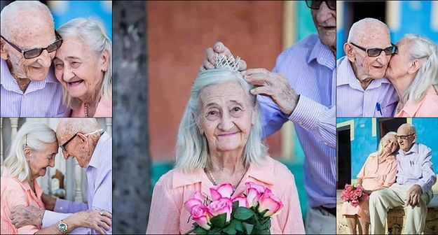 """""""Miłość się nie starzeje"""" - zobaczcie najpiękniejszą sesję zdjęciowa pary, która jest już ze sobą 65 lat"""