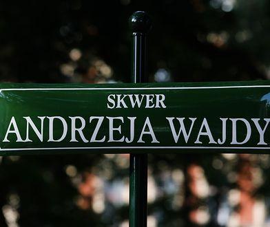 Skwer im. Andrzeja Wajdy na krakowskich Plantach