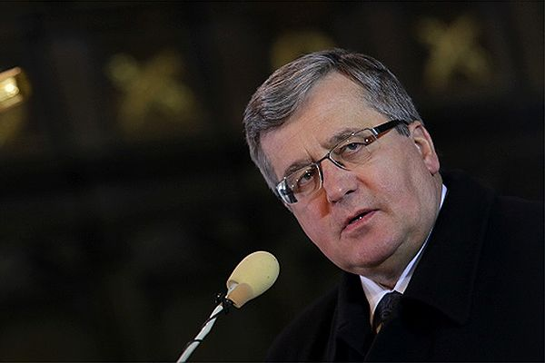 Zniszczony dąb wolności zasadzony przez prezydenta w Krakowie