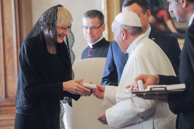 Agata Duda po raz kolejny spotkała się z papieżem
