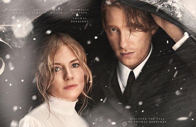 Sienna Miller i Domhnall Gleeson w świątecznej kampanii Burberry