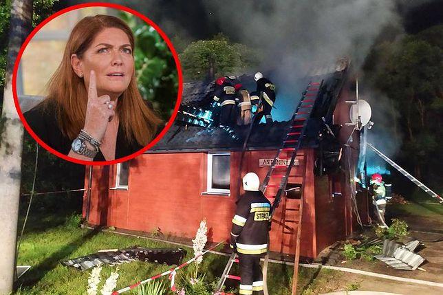 """Katarzyna Dowbor komentuje podpalenie domu uczestniczki """"Nasz nowy dom"""""""
