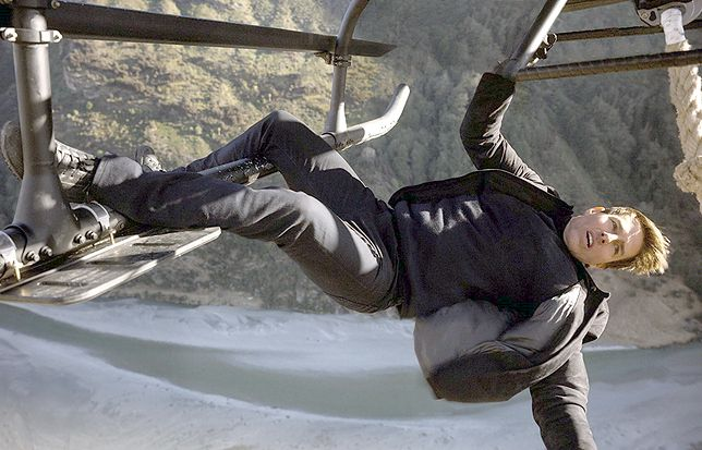 """Tom Cruise w """"Mission Impossible: Fallout"""""""