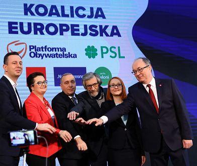 Liderzy Koalicji Europejskiej zaprezentowali hasło na wybory do PE