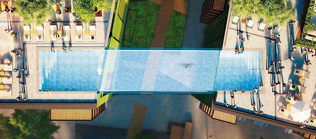 """W Londynie powstanie """"podniebny basen"""". Połączy dwa apartamentowce"""