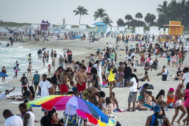 Oblężenie Miami Beach w marcu 2021 roku