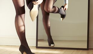Czarne szpilki to jeden z symboli elegancji