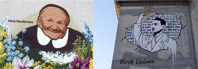 Powstaną murale Ireny Sendlerowej i Marka Edelmana? Zdecydują warszawiacy