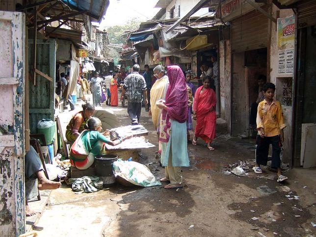 Największe slumsy świata - Mumbaj, Indie