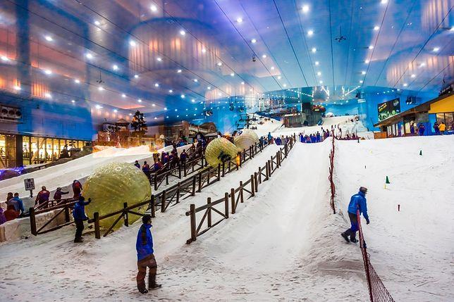 Atrakcje Dubaju - stok narciarski, Mall of Emirates