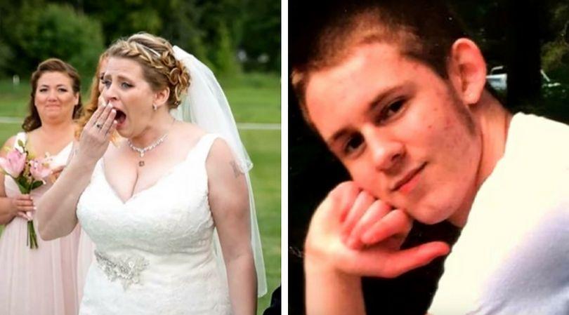 W dniu ślubu kobietę spotkała niesamowita niespodzianka