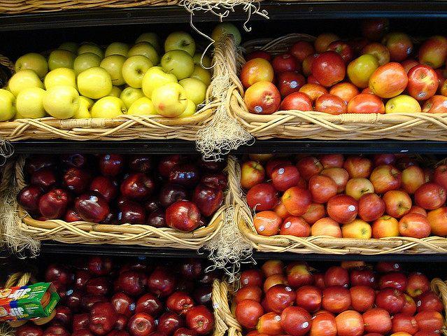 Różne rodzaje jabłek