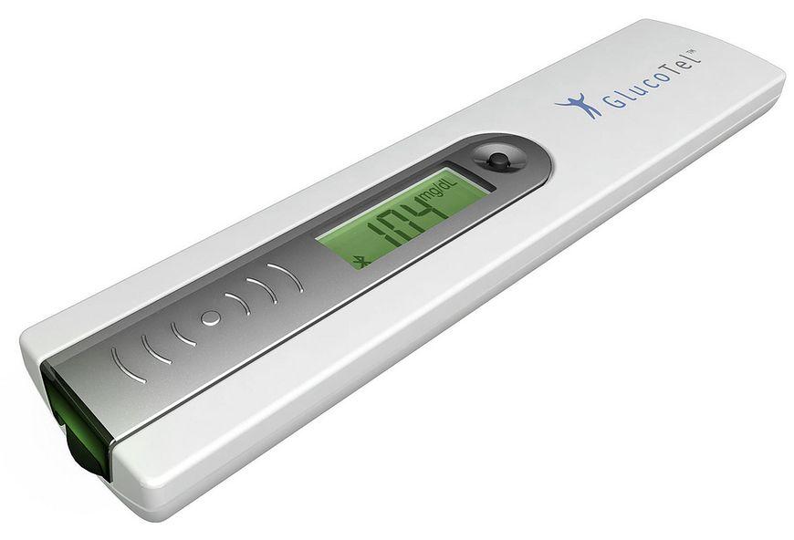 Pompa insulinowa u chorego na cukrzycę - glukometr