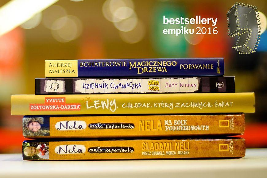 Nominacje książki - Bestsellery Empiku 2016
