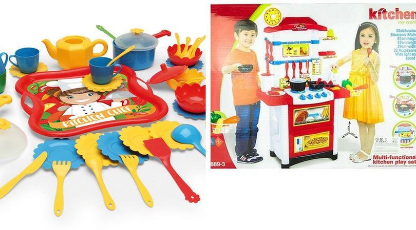 Dzieci lubią zabawki, które imitują przedmioty używane przez dorosłych