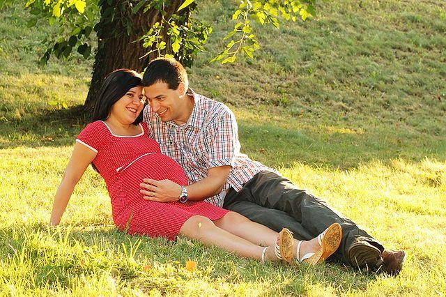 Para oczekująca dziecka
