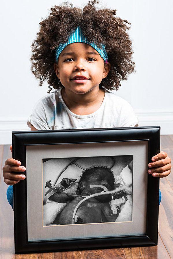 Eva, urodzona w 29. tygodniu ciąży