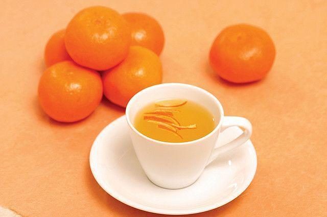 Herbata ze skórki pomarańczy