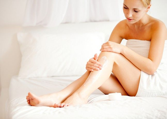 Stosuj balsam na wilgotną skórę