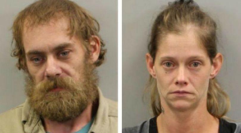 Adam Byrd i Crystal Carnahan - rodzice 5-letniej dziewczynki zatrzymani przez policję