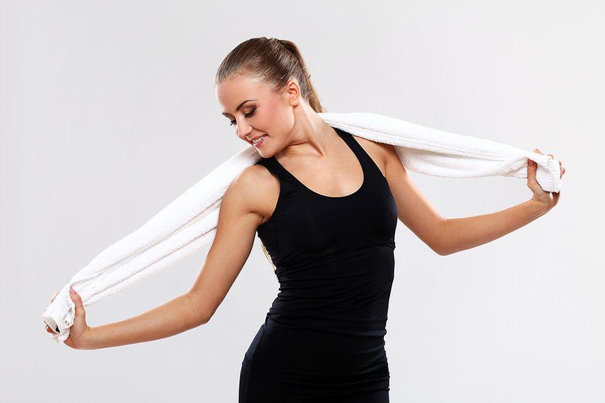 Ręcznik i skakanka