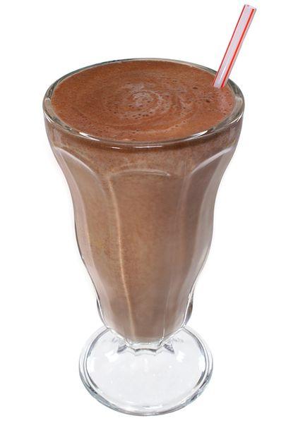 Shake z gorzkiej czekolady