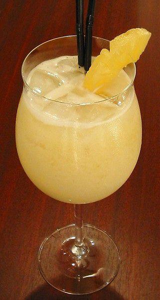 Ananasowe frappé