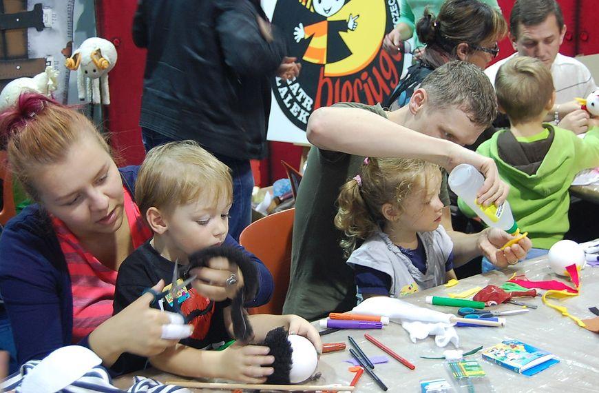 Dzieci w czasie warsztatów