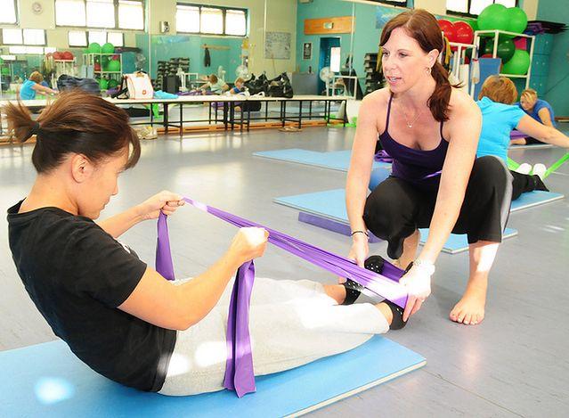 Ćwiczenia z trenerką