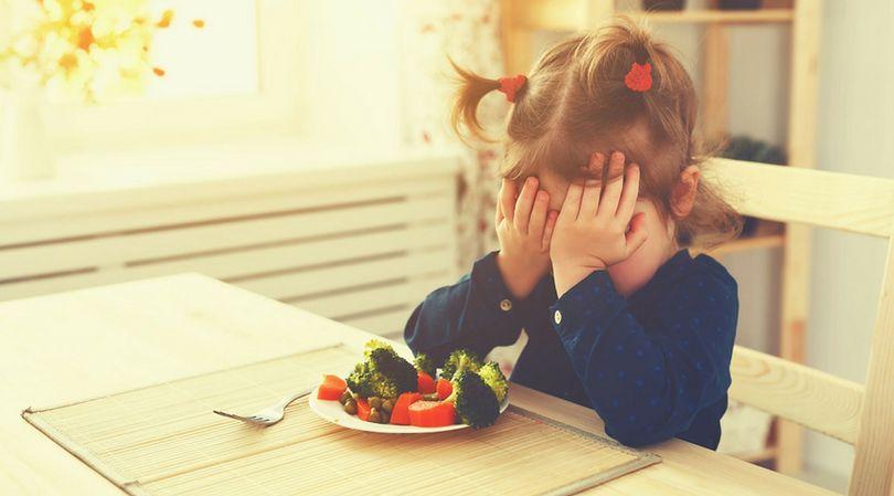Wielu rodziców ma problem z nakłonieniem dziecka do jedzenia warzyw