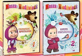 Baw się, oglądając śmieszne przygody Maszy i Niedźwiedzia