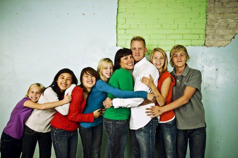 3. Rozładowanie stresu - przytulenie
