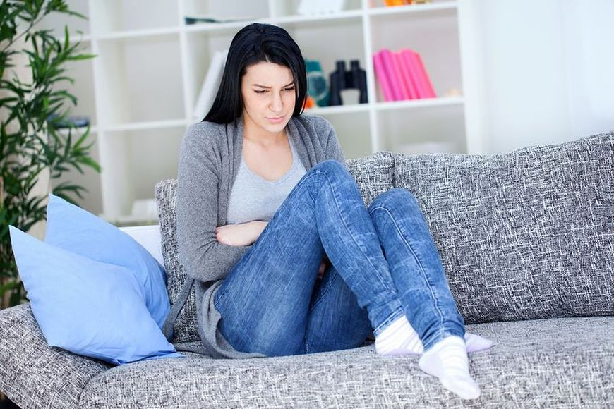 Objawy menstruacji a żywność