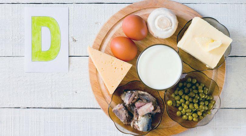 Jajka, ser, śmietana, a także ryby, są zasobne w witaminę D