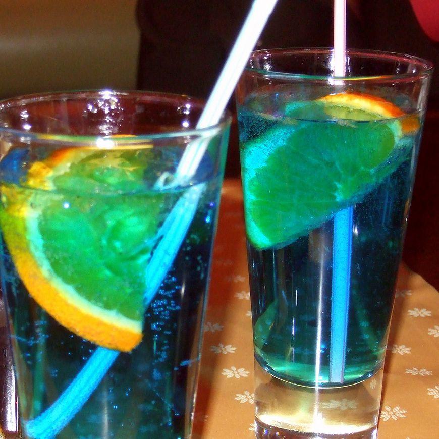 Kolorowe drinki