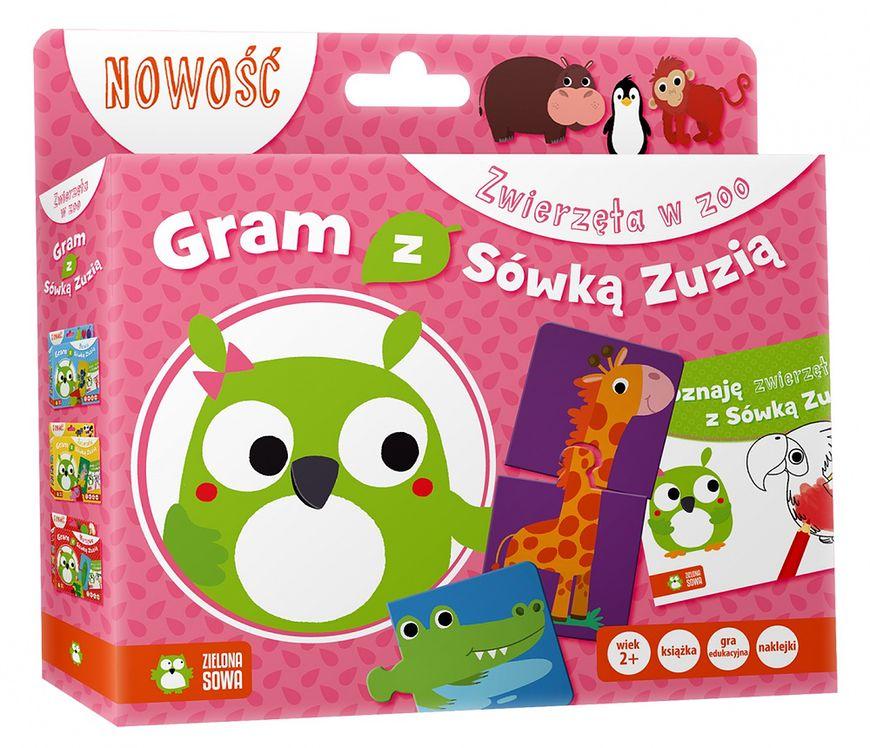 """""""Gram z Sówką Zuzią. Zwierzęta w zoo"""""""