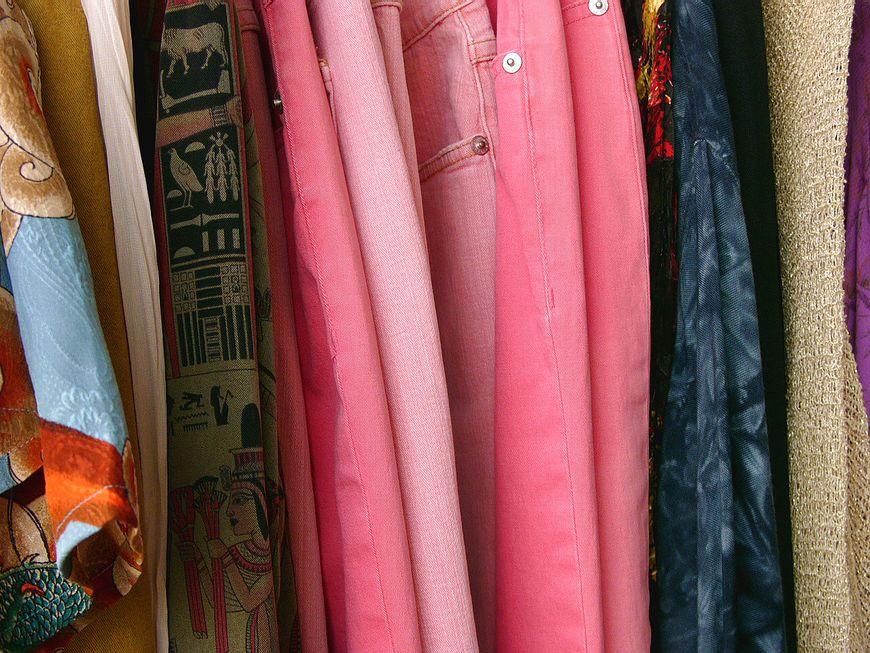 Kolorowe ubrania