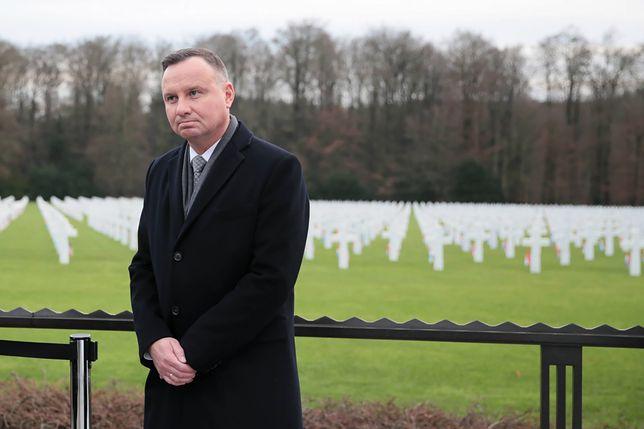 Andrzej Duda nie wybiera się do Izraela