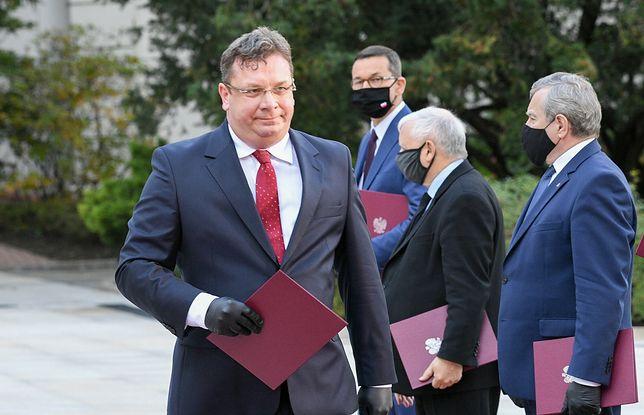 Tarcia w Zjednoczonej Prawicy. Michał Wójcik odpowiada Jarosławowi Kaczyńskiemu